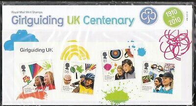 GB 2010 PRESENTATION PACK GIRLGUIDING UK CENTENARY