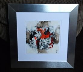 Framed Original Artwork, Canvas Painting by INCADO Artist - Marion, Denmark. From John Lewis