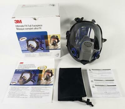 3m Ultimate Fx Full Facepiece Reusable Respirator Ff-402 Medium-pre-owned