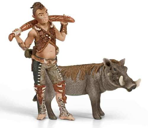 NEW SCHLEICH BAYALA ELVES 70443 Umitok Elf & Warthog - RETIRED