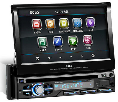 BOSS Audio BV9979B Single Din, Touchscreen, Bluetooth, DVD/C