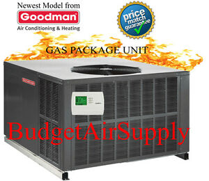 Gas Package Unit Heating Cooling Amp Air Ebay