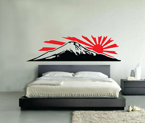 support fuji autocollant mural vinyle voiture van porte ebay. Black Bedroom Furniture Sets. Home Design Ideas