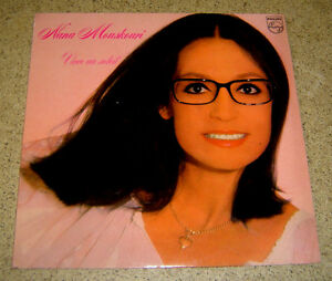 NANA MOUSKOURI - Vivre Un Soleil LP ASIAN PRESS VOCAL Hong Kong,Malaysia
