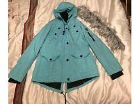 Ladies waterproof/windproof raincoat