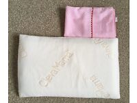 Clevamama ClevaFoam Baby Pillow and Pillowcase