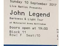 John legend ticket X1