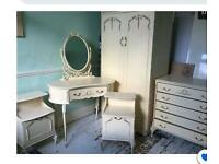 I'm looking to buy this vintage French style wardrobe set if anybody wants to sell one like this