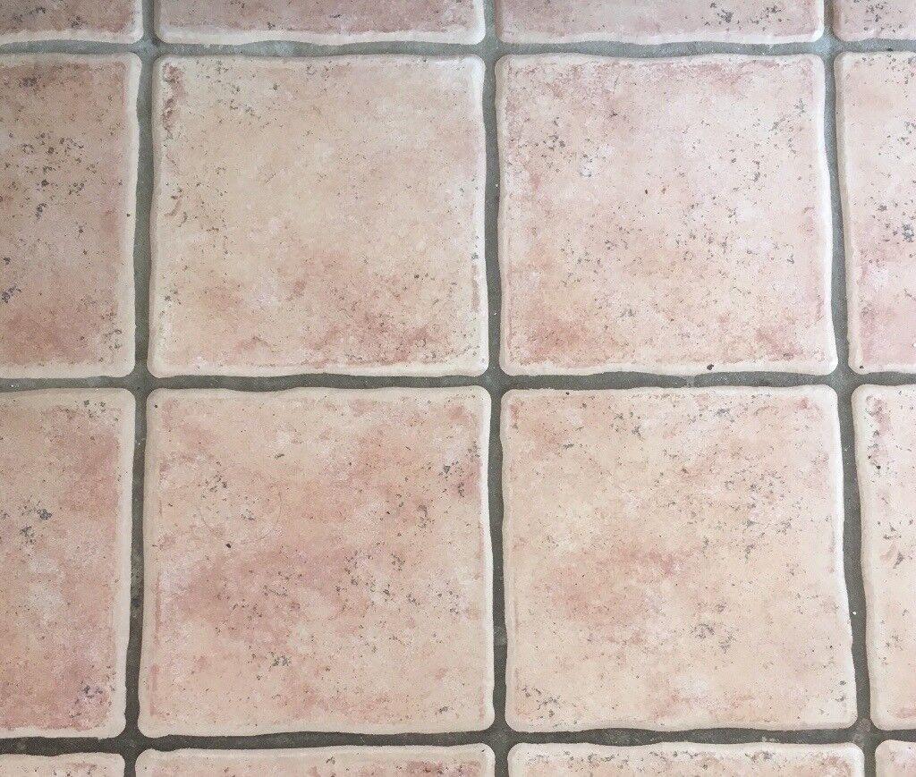 Pretty Light Terracotta Coloured Floor Tile In Wokingham