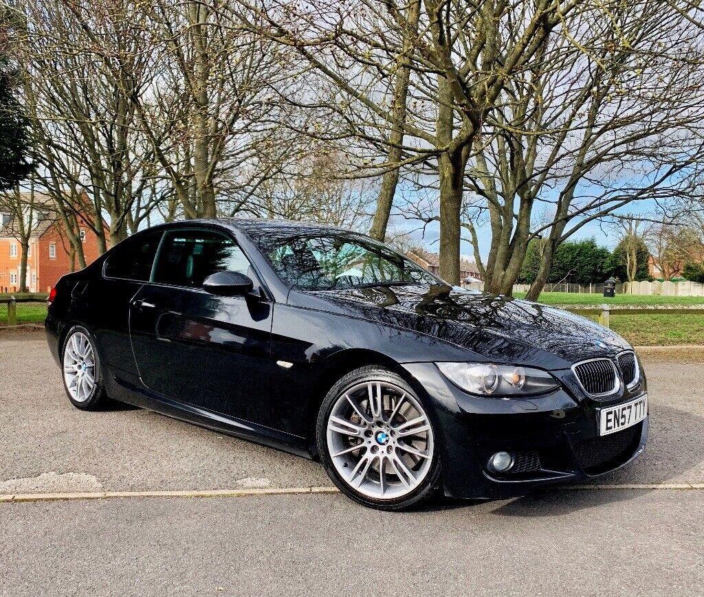 2008 BMW 3 SERIES E92 335D M SPORT COUPE BLACK - FSH - 12 MONTHS MOT -  REMAPPED | in Wolverhampton, West Midlands | Gumtree