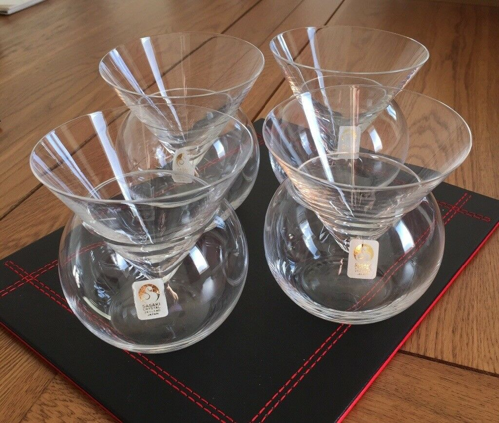 Sasaki Crystal Drinks Glasses