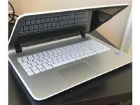 "HP Pavilion, 15.6"", 15- p088sa, Beats Audio, White / Sliver laptop."