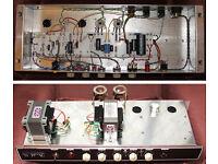 HANDWIRED Ampmaker Double Six Tube amp head 1/6/12 Watts Blackface tonestack Valve guitar amplifier