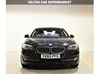 BMW 5 SERIES 3.0 530D SE 4d AUTO 242 BHP SAT NAV + BLUETOOTH + LEATHERS (black) 2010