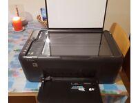 HP Deskjet F4580 all in one printer wifi