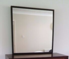 Ikea Stave Wall Mirror, Black-brown, condition - like new.