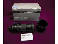 Tamron SP A011 150-600mm F/5-6.3 VC Di USD Lens - Canon EF Fit - Boxed