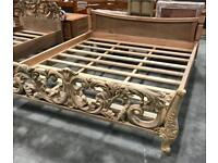 Superking Wooden bed