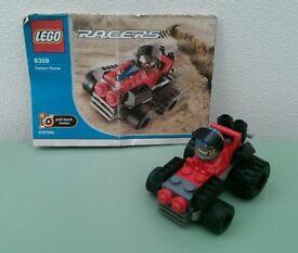 LEGO Racers 8359 Desert Racer (Pull back motor)