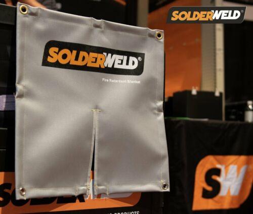 SolderWeld SW-MFRB Flame Resistant Magnetic Blanket