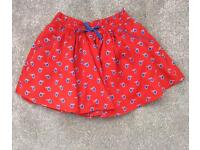 Next Red Skirt Age 9-12 months