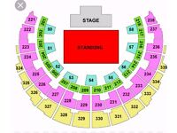 2 x RED HOT CHILLI PEPPERS TICKETS SSE HYDRO