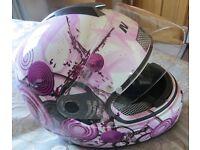 Nolan N63 lightweight motorcycle helmet size L