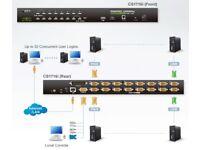 Aten CS1716i 16-Port PS/2-USB VGA KVM over IP Switch