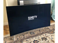 55in Samsung ue55ks7500 Curved SUHD HDR 1000 (10bit Panel) Smart Quantum Dot LED TV