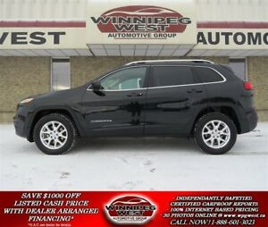 2016 Jeep Cherokee NORTH EDITION 4X4, LOADED & SHARP LOCAL SUV