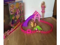 Barbie Puppy Play Park