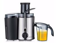 Powerful 2 speed low noise whole fruit juicer