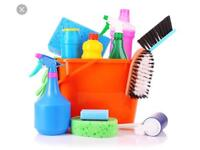 Domestic cleaner with spaces after the 22nd of March