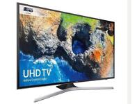 "50"" Samsung Smart 4K Ultra HD HDR LED TV UE50MU6100 in the box"
