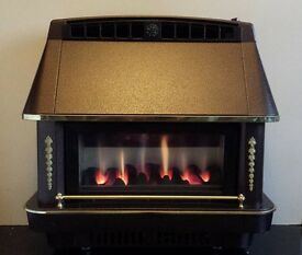 Robinson Willey Firecharm 3.52 KW Gas Fire (Bronze)