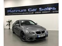 BMW 3 SERIES 320D M SPORT (grey) 2012