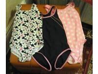 3 Girls Swimming Costumes