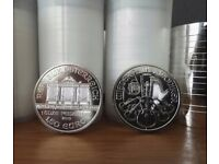 100 X Silver Philharmonic 0.999 fine silver 1 Oz Coins 2013... Price drop for quick sale!