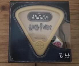 Harry Potter trivial pursuit brand new, never opened