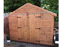 12ft x10ft shed
