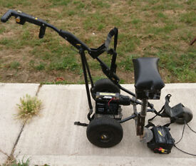 Powakaddy Electric Golf Trolley with Seat, battery & charger