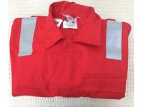 """Overalls Red 52"""" New"""