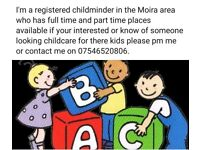 Childminder in moira