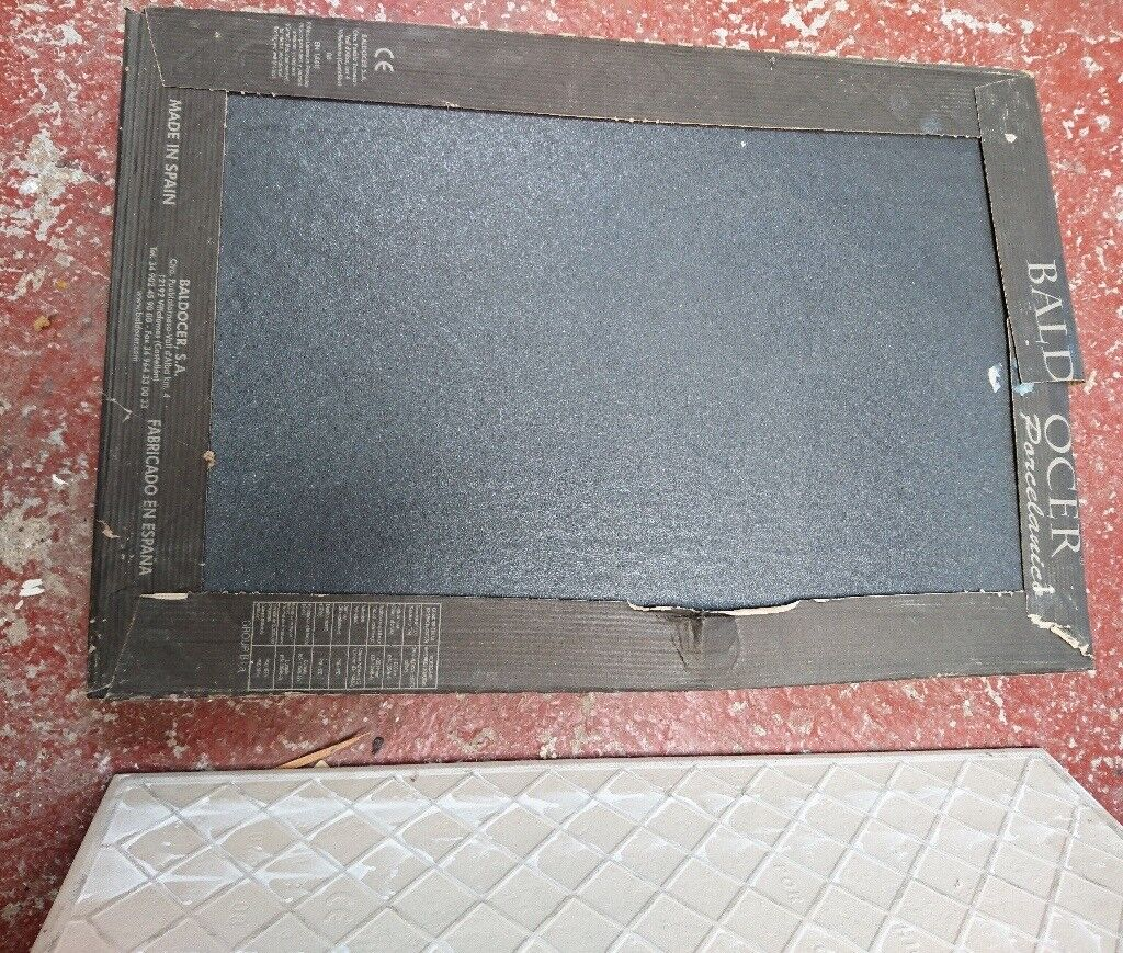 30 Black Slate Floor Tiles 60 x 40 8mm Thick | in Lincoln ...