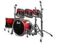 Pearl Vision VBX 6 piece Drum Kit