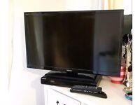 "29"" Black Celcus TV & Samsung DVD Player"