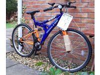 Irn Bru Mountain Bike
