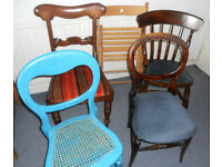 Chairs for Upholstery or Up-cycling Projects - £10 each