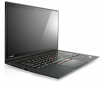 Lenovo ThinkPad X1 Carbon 2nd Gen Laptop PC i7-4600U 240GB SSD 8GB RAM Win 10