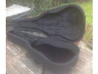 Acoustic guitar case. Gear4music foam semi-hard case. Nearly new.